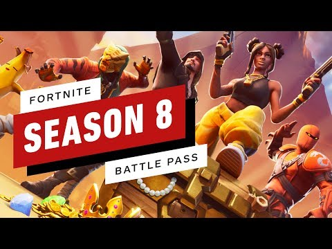 Fortnite Season 8 Battle Pass - UCKy1dAqELo0zrOtPkf0eTMw