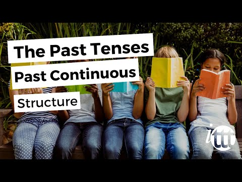 English Grammar - Past Continuous - Structure - Teaching English Online