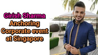 Corporate Dealers Meet Anchor Host Emcee Girish in Singapore | Character Emcee