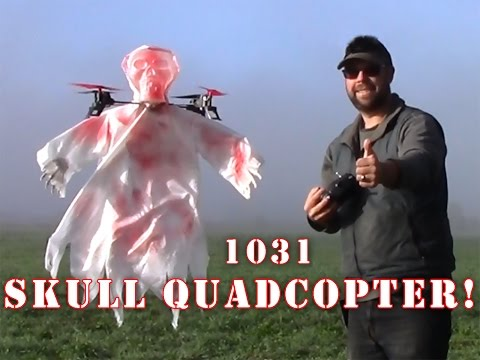 1031 Skull Halloween Quadcopter FLYING Review!! PT2 - UCLqx43LM26ksQ_THrEZ7AcQ