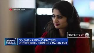 Goldman Pangkas Proyeksi Pertumbuhan Ekonomi 4 Macan Asia