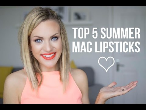 Top 5 Summer Mac Lipsticks - UC4gJGiI7rmR3uVrneY7fFAQ