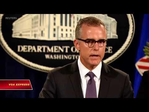 Chính quyền Trump phản pháo cựu lãnh đạo FBI (VOA)