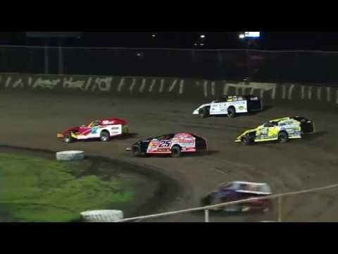 DIRTcar Summer Nationals Modifieds feature from Tri-City Speedway on June 22nd, 2018. - dirt track racing video image
