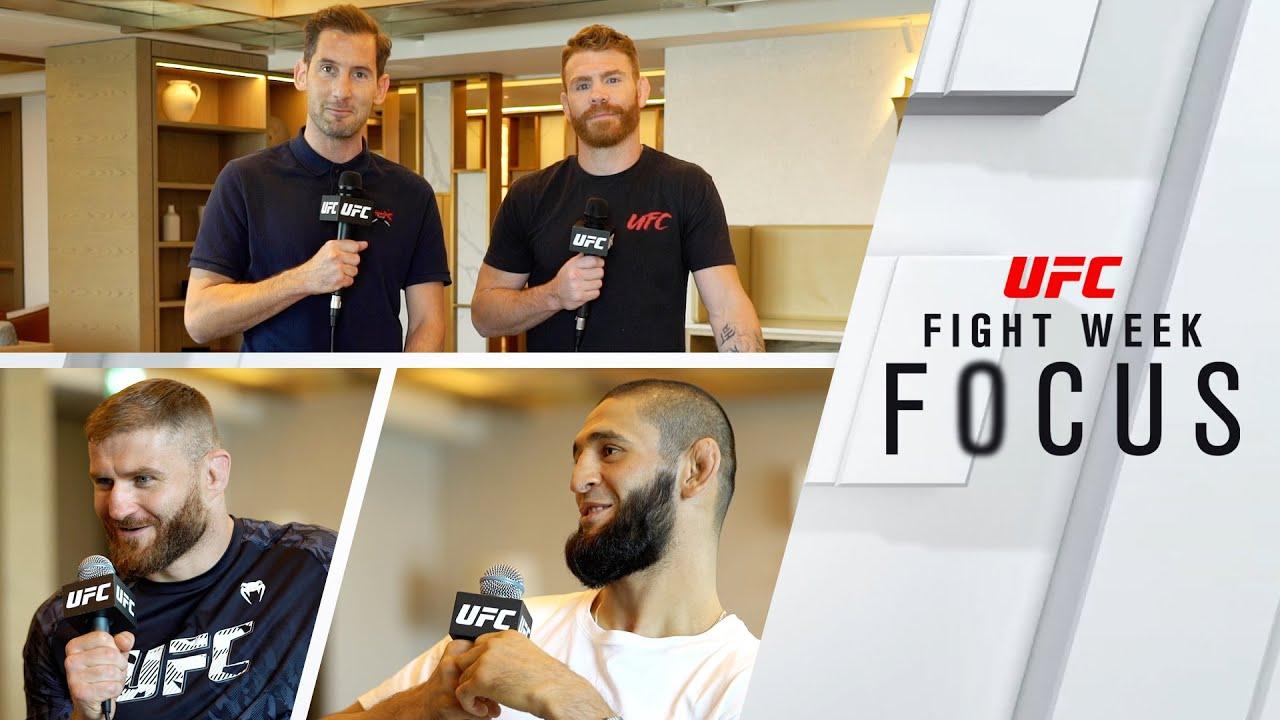 UFC 267: Fight Week Focus – Ep. 1 | Jan Blachowicz & Khamzat Chimaev