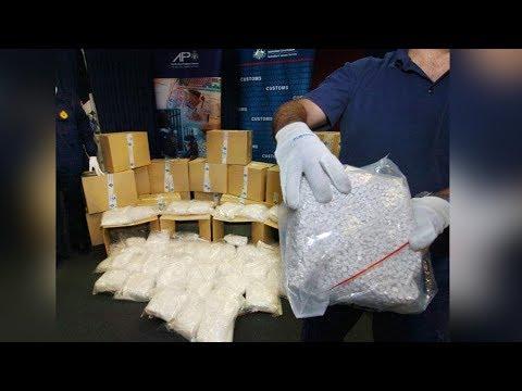 Mỹ bắt lượng thuốc lắc gần $1 tỷ định gởi đi Úc
