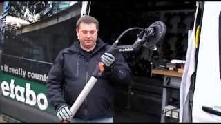 Metabo pristato sienų-lubų šlifavimo įrankį LSV 5-225 Comfort