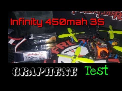 Infinity 450mah 3S Graphene Batteries from Crazepony-Power - UCNUx9bQyEI0k6CQpo4TaNAw