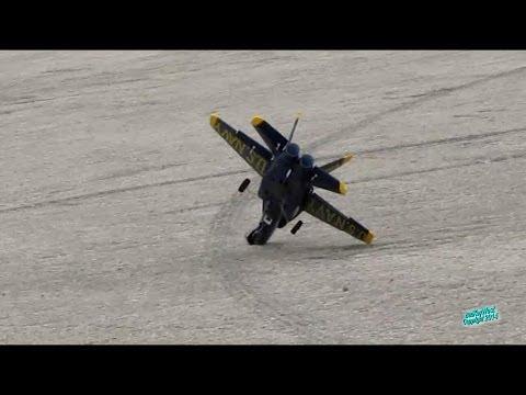 RC F-18 EDF Jet Crash Landing - UC0UJ4cllrBRip2Mw8lfuQnQ