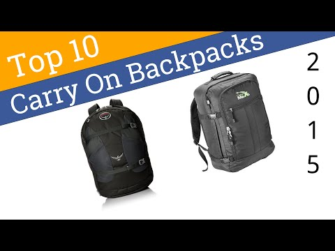 10 Best Carry On Backpacks 2015 - UCXAHpX2xDhmjqtA-ANgsGmw