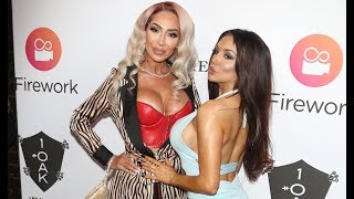 Farrah Abraham Poses With Courtney Stodden At Her 28th B-Day Bash
