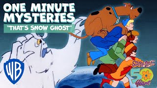 Scooby-Doo! One Minute Mysteries | That's Snow Ghost | WB Kids
