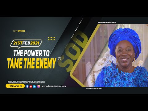 Dr Becky Paul-Enenche - SEEDS OF DESTINY  SUNDAY FEBRUARY 21, 2021