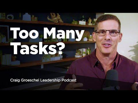 Four Tiers of Efficiency - Craig Groeschel Leadership Podcast