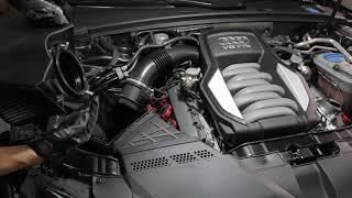 Sostituzione filtro aria Audi S5 4.2L