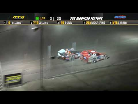 Thunder Mountain Speedway   DIRTcar 358-Modified Highlights   7/4/21 - dirt track racing video image