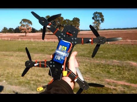 ZMR250 Quadcopter Battery on the Bottom. KK2.0 Emax 1806 2280kV Mystery 12A ESC - UCIJy-7eGNUaUZkByZF9w0ww