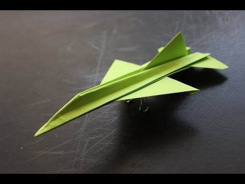 How to make a cool paper plane origami: instruction| F16 - UCFYcINEiqarevaqcKHRxpEQ