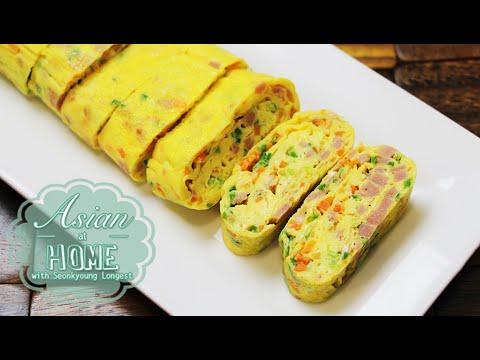 Asian at Home | Korean Egg Roll/Rolled Omelet - UCkNMDHVq-_6aJEh2uRBbRmw