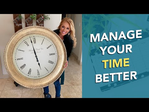 Why Youre Not Productive  How to Manage Your Time Better  Terri Savelle Foy