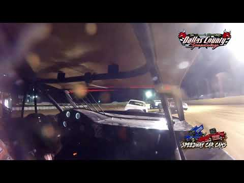 #54 David Hendrix - USRA Stock Car - 7-9-2021 Dallas County Speedway - In Car Camera - dirt track racing video image