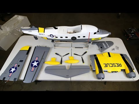 Hobbyking Avios Grumman ALBATROSS 1620mm UNBOXING AND BUILD! - UCLqx43LM26ksQ_THrEZ7AcQ