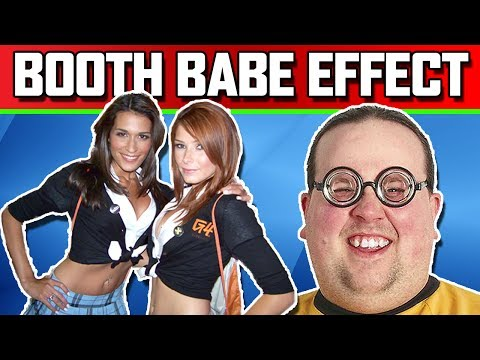 Booth Babes Effect - twthereddragon