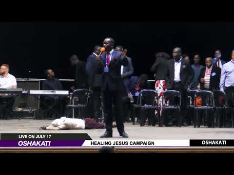WATCH THE HEALING JESUS CAMPAIGN, LIVE FROM OSHAKATI. DAY 1.