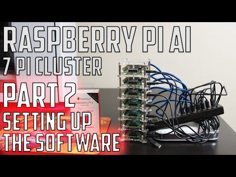 Raspberry Pi Cluster Super Computer AI - Part 2 -  Setting Up The Software - UCIKKp8dpElMSnPnZyzmXlVQ