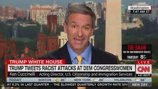 Ken Cuccinelli Tells CNN Trump's Racist Tweets Could Motivate Democrats to Fix Border Crisis