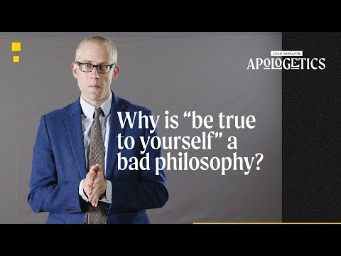 Why Is Be True to Yourself a Bad Philosophy?
