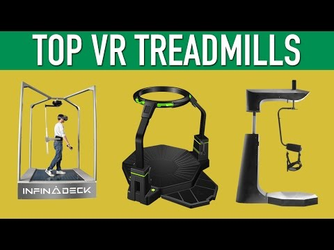 Top VR Treadmills Virtual Reality Locomotion - UC8QKYhk0f5b-1X29ywsWjwg