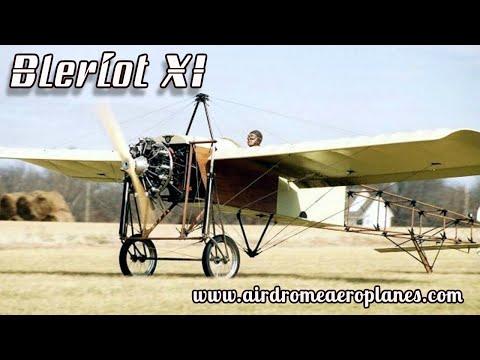 Airdrome Aeroplanes, Bleriot XI Replica, Experimental Aircraft Kit