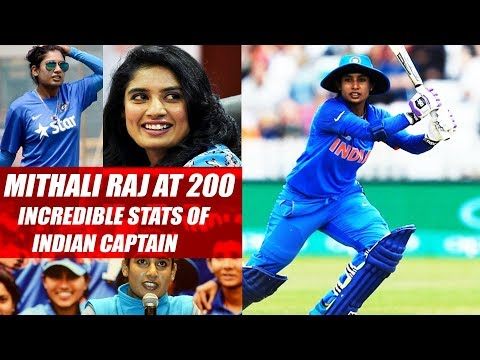 Mithali Raj At 200: Incredible Stats Of Indian Captain