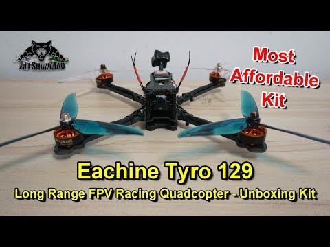 Eachine Tyro 129 Long Range FPV Racing Drone Unboxing Kit - UCsFctXdFnbeoKpLefdEloEQ