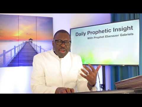 Prophetic Insight Mar 28th, 2021