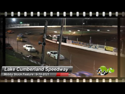 Lake Cumberland Speedway - Hobby Stock Feature - 9/18/2021 - dirt track racing video image