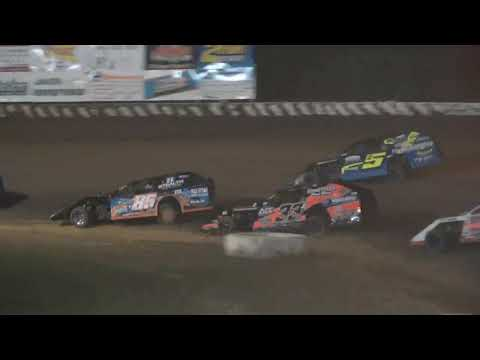 UMP Modified A-Main from Richmond Raceway, July 25th, 2021. - dirt track racing video image