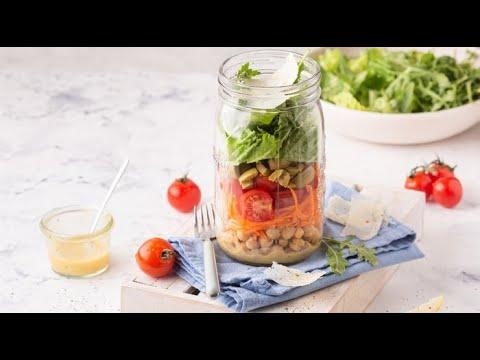 [FR] Salade Jar à l'italienne  / Salad jar - Italian Twist - CookingWithAlia - Episode 734 - UCB8yzUOYzM30kGjwc97_Fvw