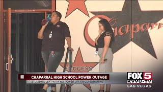 Power outage at valley schools prompts issues with air conditioning