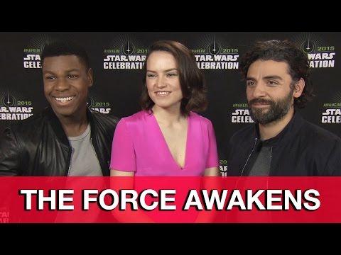 Oscar Isaac, Daisy Ridley & John Boyega Interview - Star Wars The Force Awakens - UCS5C4dC1Vc3EzgeDO-Wu3Mg