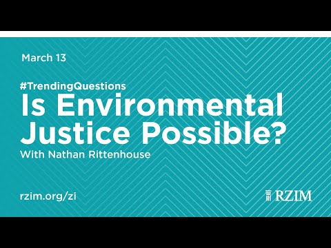 Is Environmental Justice Possible?  Nathan Rittenhouse #TrendingQuestions
