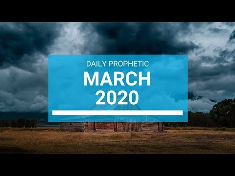 Prophetic Word for March 2020