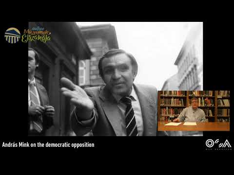 Where did the democratic opposition disappear? A lecture by András Mink