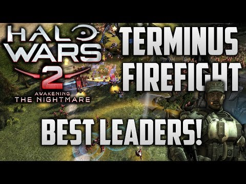 Halo Wars 2 Terminus Firefight - Who are the Most Effective Leaders? - UC7p8p881VBUXXcNbomNsT8A