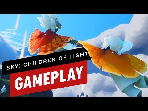 13 Minutes of Sky: Children of Light Gameplay (ThatGameCompany) - UCKy1dAqELo0zrOtPkf0eTMw