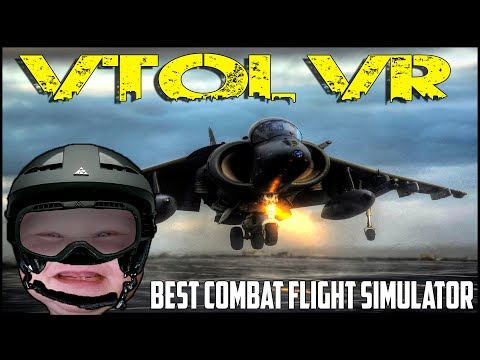 MINDBLOWING COMBAT FLIGHT SIMULATOR! ► VTOL VR - HTC VIVE - UCkbf6XcPiKbK9motaSxbi7Q