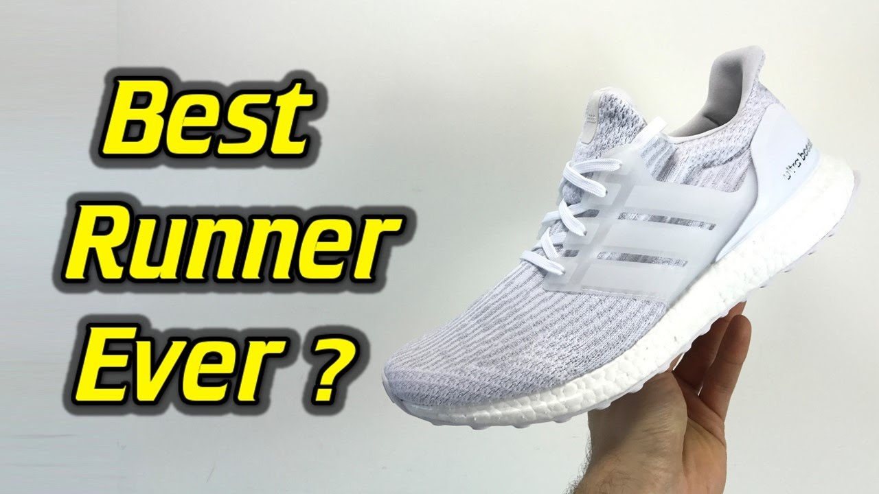 super popular 268de baa04 Adidas Ultraboost 3.0 (Triple White) - One Take Review + On Feet    ImpressPages.lt