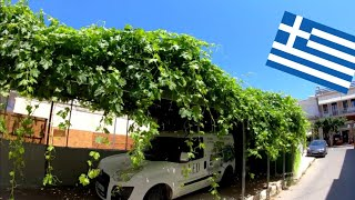 ⁴ᴷ KISSAMOS walking tour 🇬🇷 Crete, Greece 4K