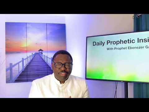 Prophetic Insights Apr 21st, 2021